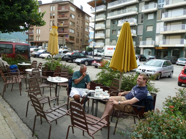 A second stop with Tom and Bob at Llivia (Spain)
